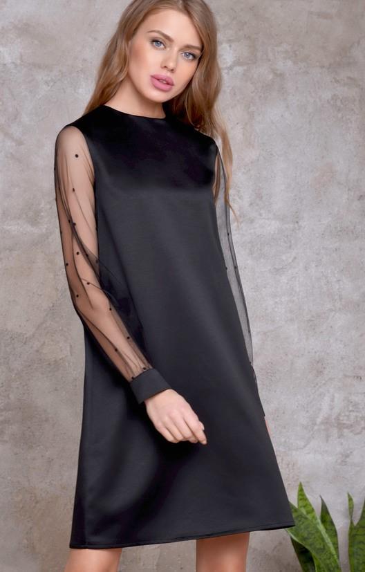 b2760fcdf83 Для женщин маленького роста подойдет платье средней длины.