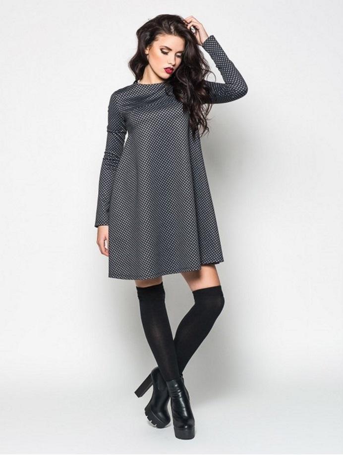 6bafcab77e5af6c ... или длинным рукавом-фонариком. Чтобы усилить эффект погружения в 70  годы прошлого века, можно приобрести платье красного цвета или в  черно-белую клетку.