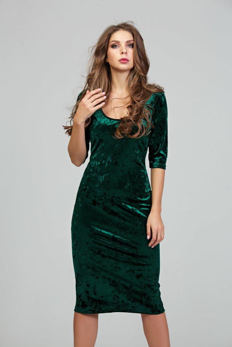Платье Изумрудного Цвета Купить Интернет Магазин Недорого